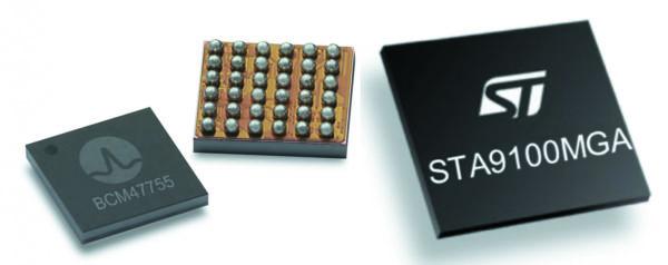 Недорогие двухдиапазонные GNSS-приемники: Broadcom 47755 и ST Micro TeseoV