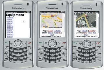 Мобильная версия программы PosiTrace