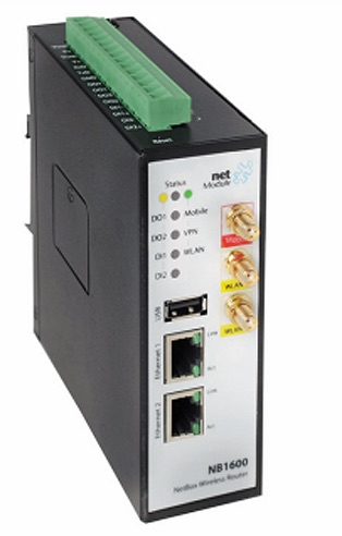 3G/LTE-роутер NB1600 Mobile&WLAN производства NetModule