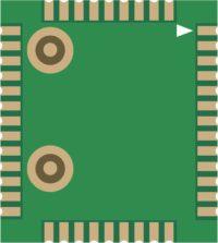 Выводы модуля М66 (вид снизу)