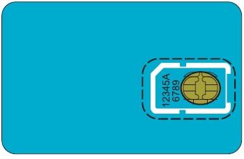 Внешний вид SIM-карты