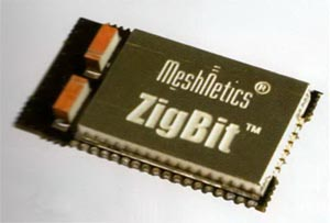 модуль ZigBee / IEEE 802.15.4 с чип-антенной