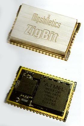 модуль ZigBee / IEEE 802.15.4 с электромагнитным шилдом и без