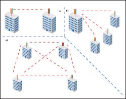 Возможные топологии сети WiMAX