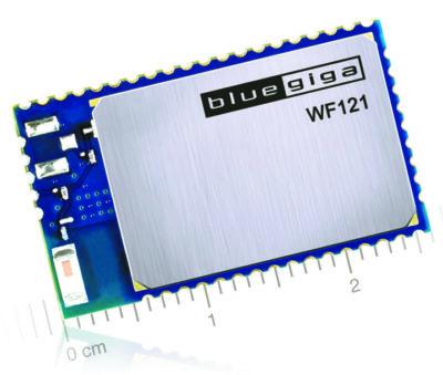 Внешний вид модуля WF121-А со встроенной антенной