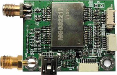 Отладочный комплект на базе навигационного модуля MGGS2217
