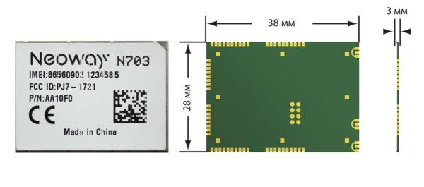 3G-модуль N703
