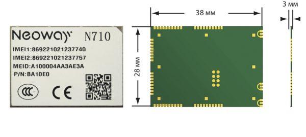 LTE-модуль N710