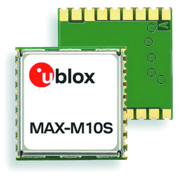 Внешний вид модуля u-blox MAX M10