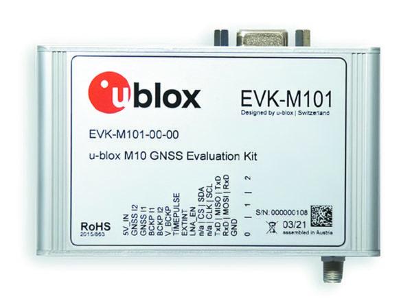 Отладочный комплект EVK-M10 u-blox M10 GNSS evaluation kit