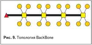 Топология BackBone