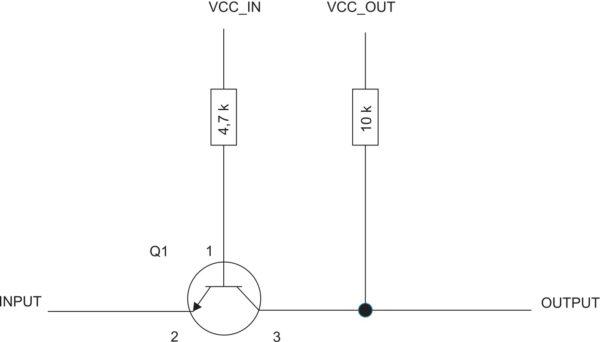 Микросхема согласования уровней Q1 MMBT3904/MMBT2222
