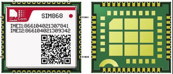 Комбо-модуль SIM868