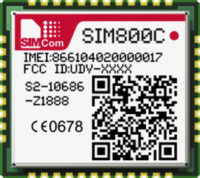 модуль SIM800C