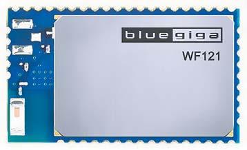 Внешний вид модуля WF121