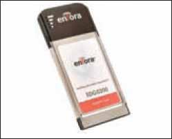 Внешний вид PCMCIA-карты Enfora PC card, EDG0200
