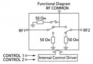 Схема коммутации переключателя HSWA2-30DR(+)