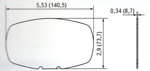 Габаритные и присоединительные размеры антенны WS3940