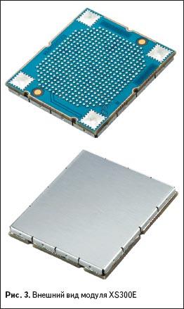 Внешний вид модуля XS300E