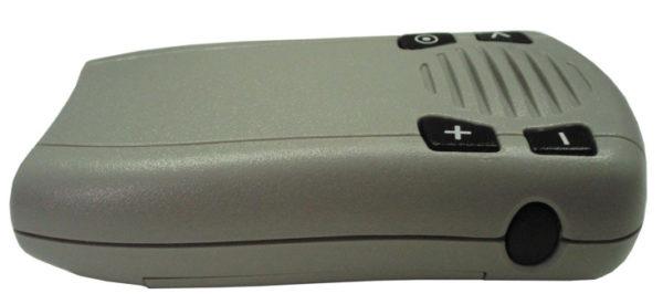 Боковая стенка модема GSM2428 с управляющей кнопкой Push to Call