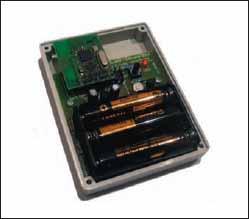 Блок iDwaRF-SensorBox с открытой верхней крышкой
