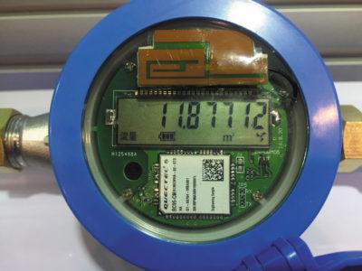 Беспроводной интеллектуальный датчик расхода воды на базе модуля BC95
