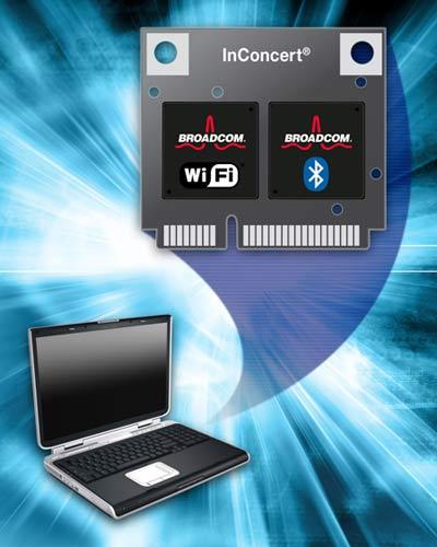 Комбинированное решение Bluetooth 3.0 и Wi-Fi