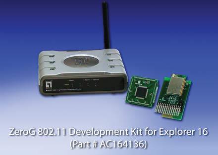 Microchip добавляет поддержку стандарта IEEE 802.11 Wi-Fi для PIC-микроконтроллеров