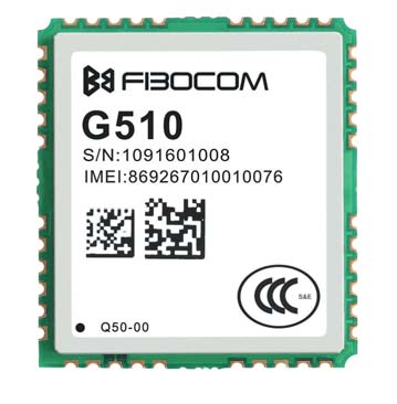 GSM/GPRS-модуль G510 (размер 20,2×22,2×2,5 мм)