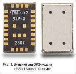 Внешний вид GPS-модуля Enfora Enabler L GP0S401