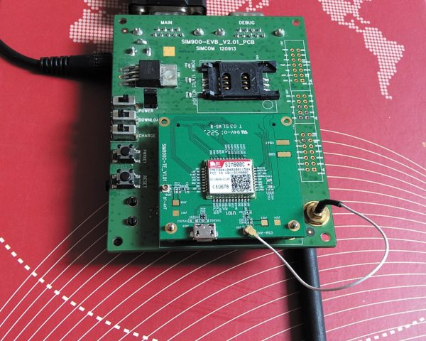 Отладочный набор для GSM/GPRS- модуля SIM800C