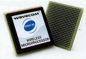 WMP-100 — беспроводной GSM-процессор в BGA-корпусе
