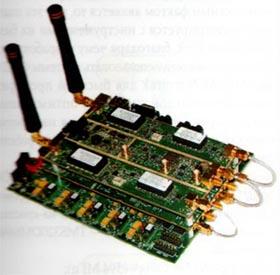 Вид платформы SDR формата FFM фирмы Lyrtech