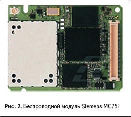 Беспроводной модуль Siemens MC75i