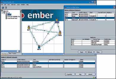 Интерфейс программы EmberStudio