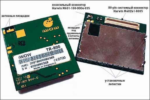 Внешний вид моджуля TR-800 от компании iWOW