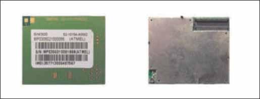 Внешний вид GSM/GPRS-модуля Sim 300