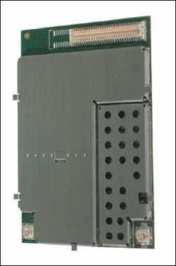 Внешний вид модуля MLG0208 со стороны разъема