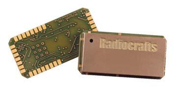 Внешний вид модуля Radiocrafts RC11xx