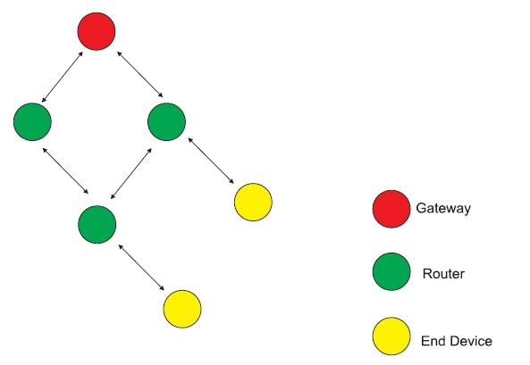 Общая структура сети Mesh