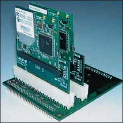 Внешний вид WLAN-модулей компании SND формата miniPCI