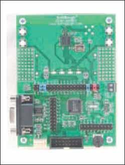 Отладочная плата DZ1612 c микроконтроллером MSP430 и трансивером СС2420
