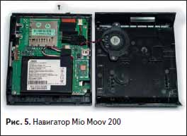 GPS навигатор Mio Moov 200