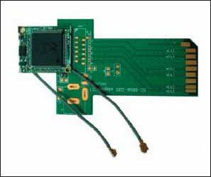 Внешний вид модуля XG-880M с адаптером CompactFlash