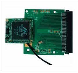 Внешний вид модуля XG-880M с адаптером SDIO