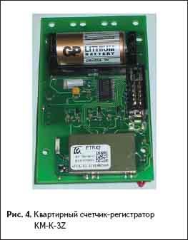 Квартирный счетчик-регистратор КМ-К-3Z