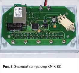 Этажный контроллер КМ-К-8Z