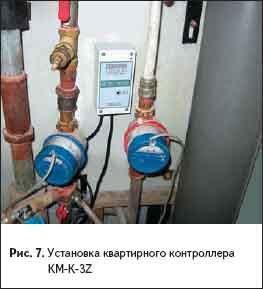 Установка квартирного контроллера КМ-К-3Z