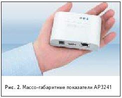 Массо-габаритные показатели AP3241