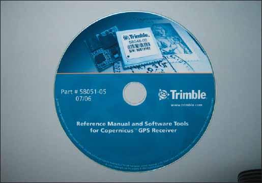 Внешний вид CD из комплекта разработчика